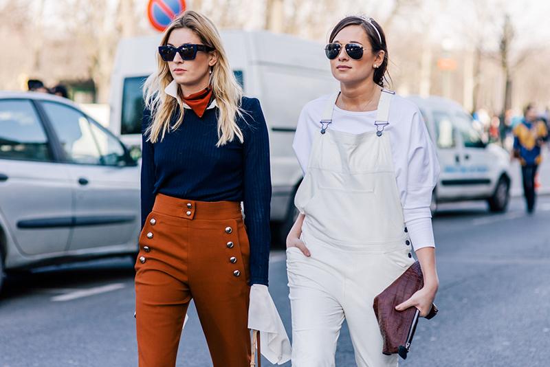 Наряды на показе уличной моды 2016
