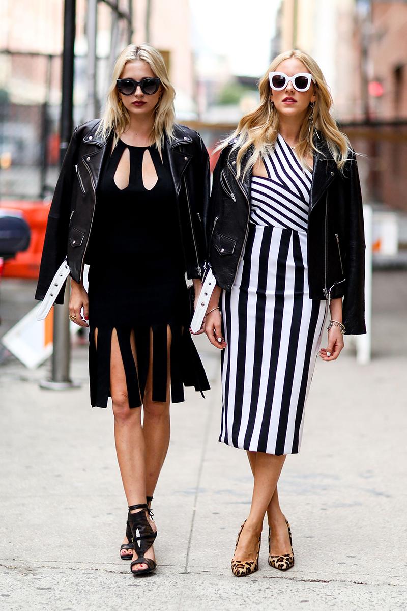 Модные платья 2016 в уличной моде – фото новинка сезона