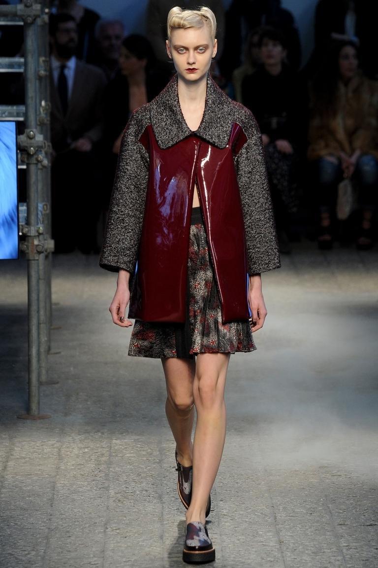 Модная куртка, модель трапеция – фото новинка в коллекции Antonio Marras