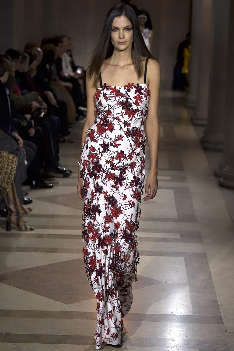 Показ Carolina Herrera осень-зима 2016-2017 на Неделе моды в Нью-Йорке