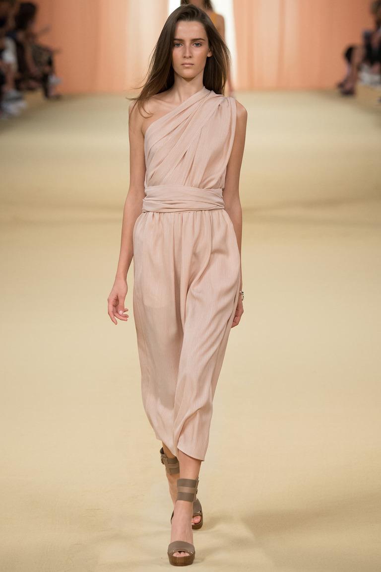 Модный комбинезон от известного бренда Hermès
