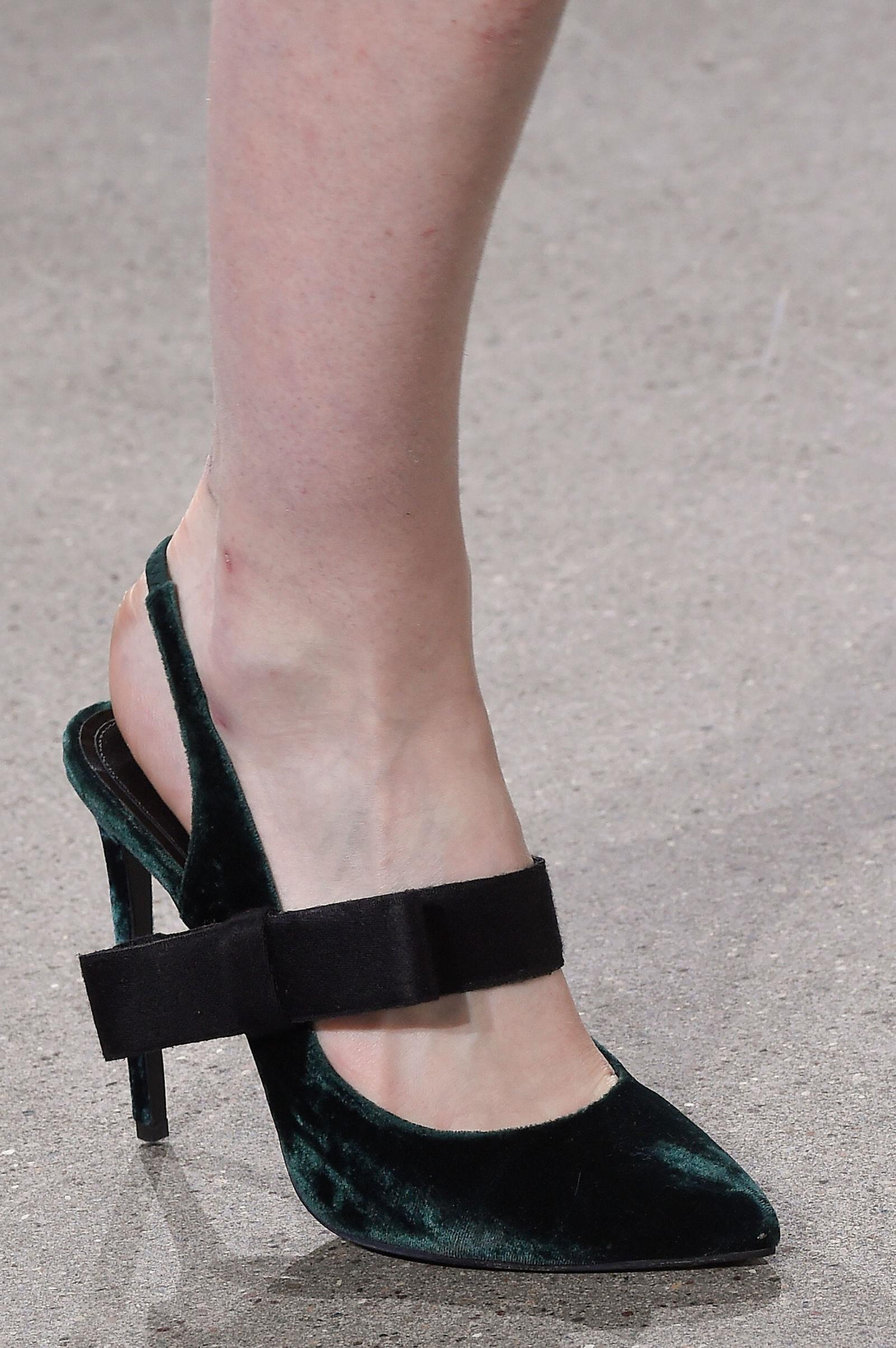 Туфли Jason Wu на неделе моды осень-зима 2016-2017 в Нью-Йорке