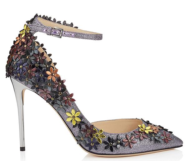Туфли лодочки, усыпанные цветочками из новой коллекции Jimmy Choo