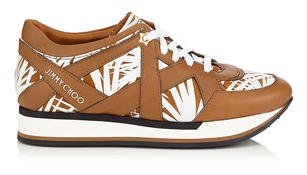 Милые бежевые кроссовки в новой коллекции Jimmy Choo – фото новинки и тренды сезона
