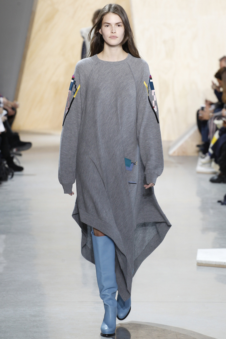 Показ Lacoste осень-зима 2016-2017 на Неделе моды в Нью-Йорке