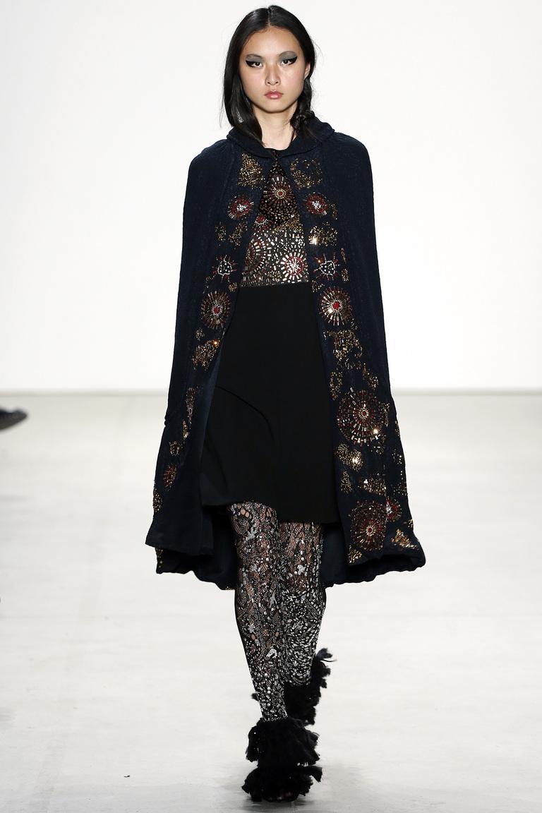 Показ Libertine осень-зима 2016-2017 на Неделе моды в Нью-Йорке