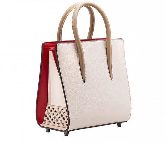 Белая модная сумочка от Christian Louboutin весна-лето 2016