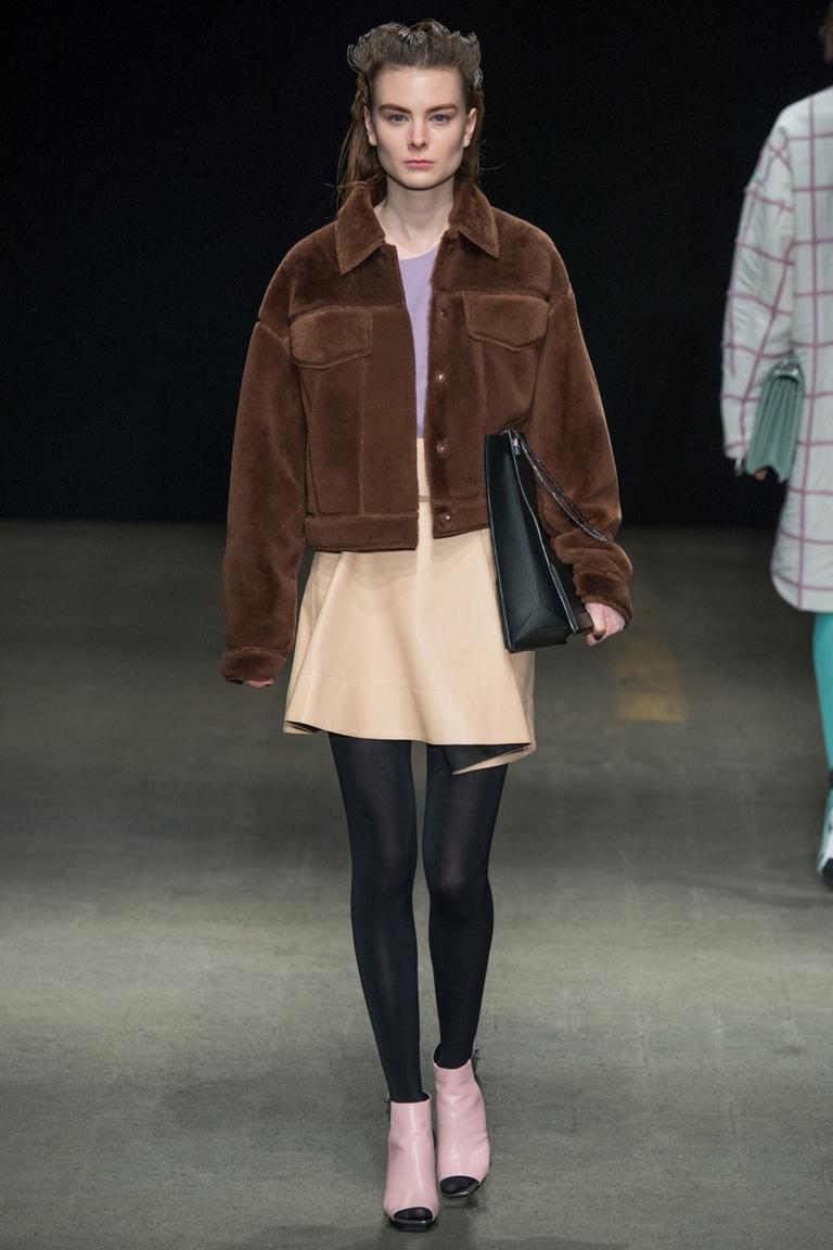 Модная зимняя куртка в коллекции Phillip Lim