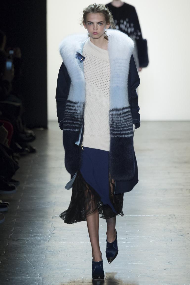 Prabal Gurung осень-зима 2016-2017 на Неделе моды в Нью-Йорке