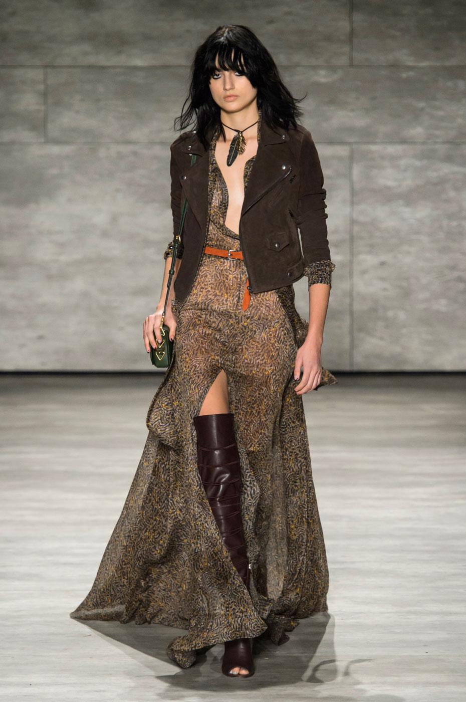 Фото модного стиля бохо в коллекции Rebecca Minkoff