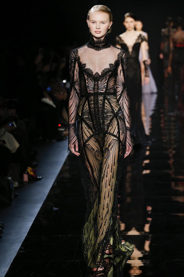 Reem Acra осень-зима 2016-2017 на Неделе моды в Нью-Йорке