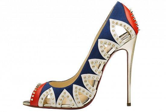Кристиан Лабутен поражает своей изобретательностью и эксклюзивными моделями туфель лабутенов в коллекции весна-лето 2016