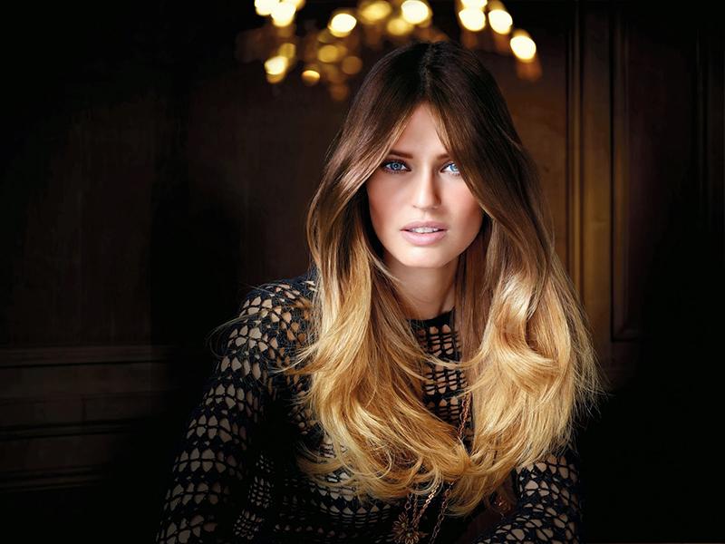 Красивое модное окрашивание волос омбре - фото новинки и тренды сезона