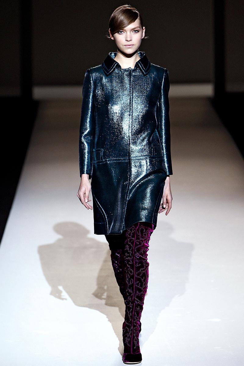 Модное кожаное пальто – фото новинки и тренды сезона