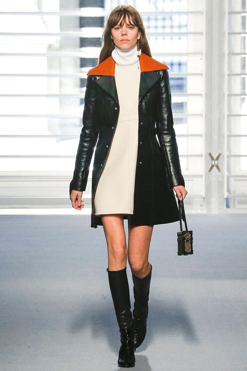 Фото короткого кожаного пальто – такие модели есть и всегда будут в моде