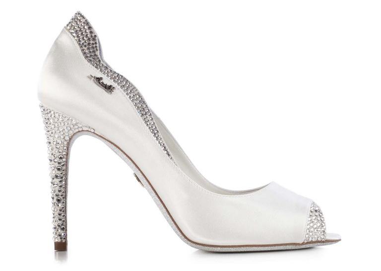 Роскошные вечерние туфли на шпильке – фото новинки из коллекции Loriblu