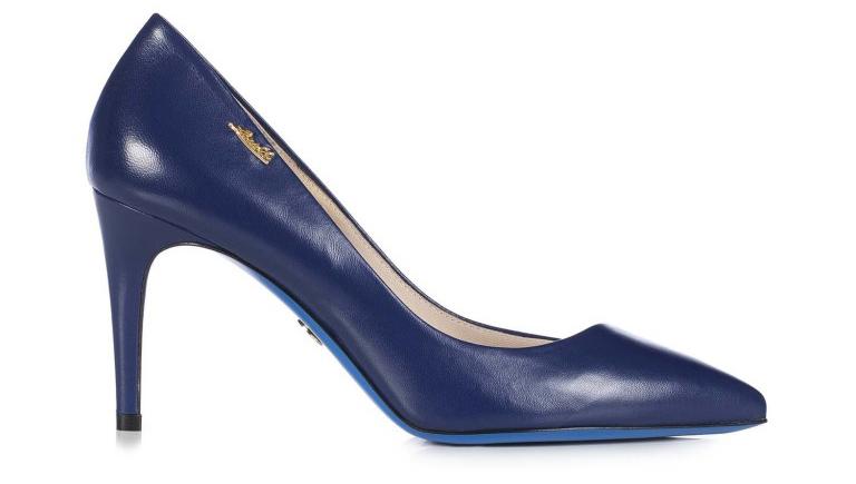 Темно-синие туфли лодочки из новой коллекции Loriblu – фото новинки и тренды сезона