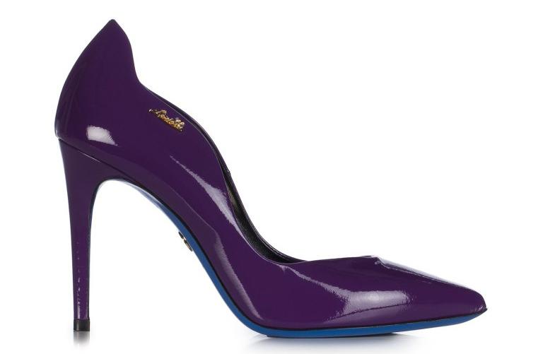 Модные туфли благородного фиолетового цвета – фото новой коллекции Loriblu