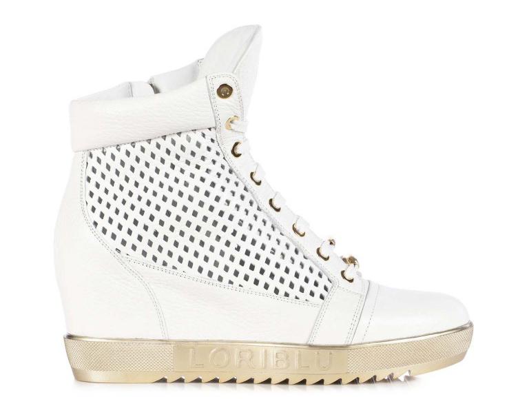 Модные кроссовки сникерсы Loriblu – фото новинки и тренды сезона