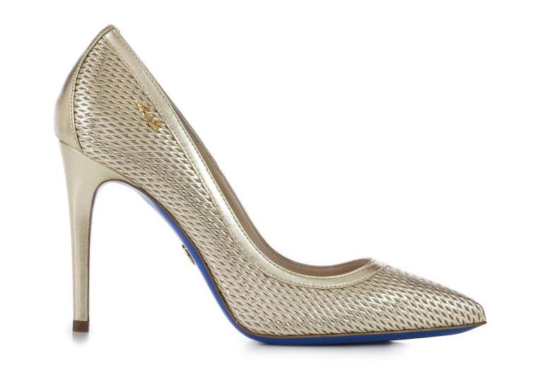 Тренд этого года – туфли золотистого цвета, как в коллекции Loriblu