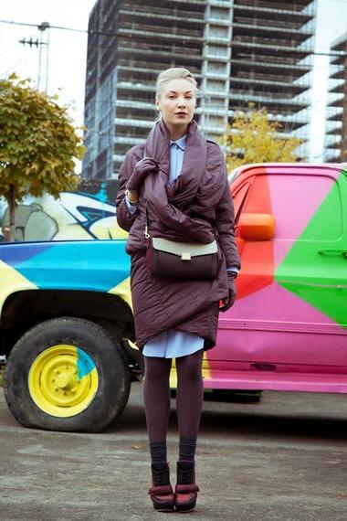 Оригинальная модель пальто на синтепоне – фото новинки и тренды сезона