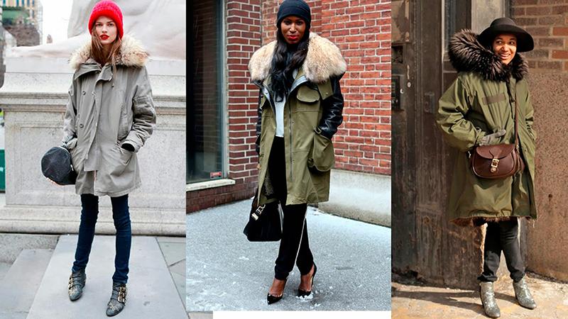 Модели куртки парки – фото новинки и тенденции сезона