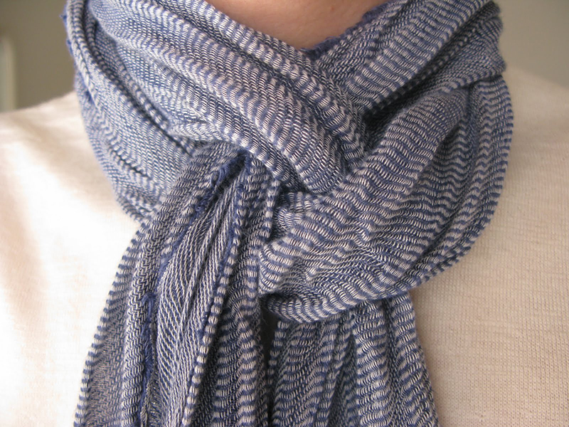 Как красиво завязывать шарф?