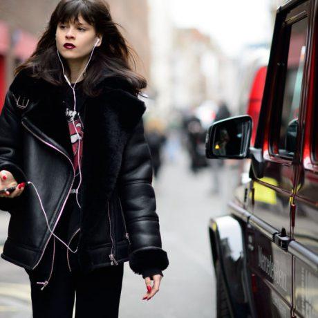 Уличная мода Лондона осень-зима 2016-2017