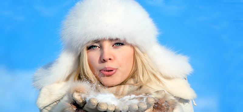 Меховая модная женская шапка ушанка – фото новинки и тренды сезона