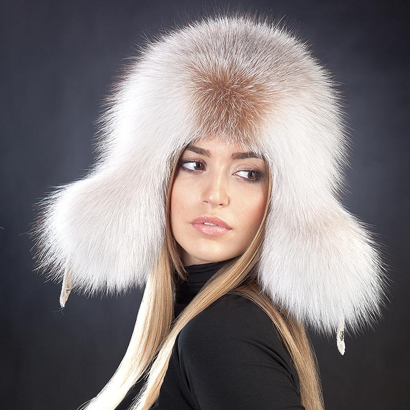 Меховая модная шапка ушанка – фото новинки и тренды сезона
