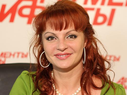 Наталья Толстая - ведущая премии Грация