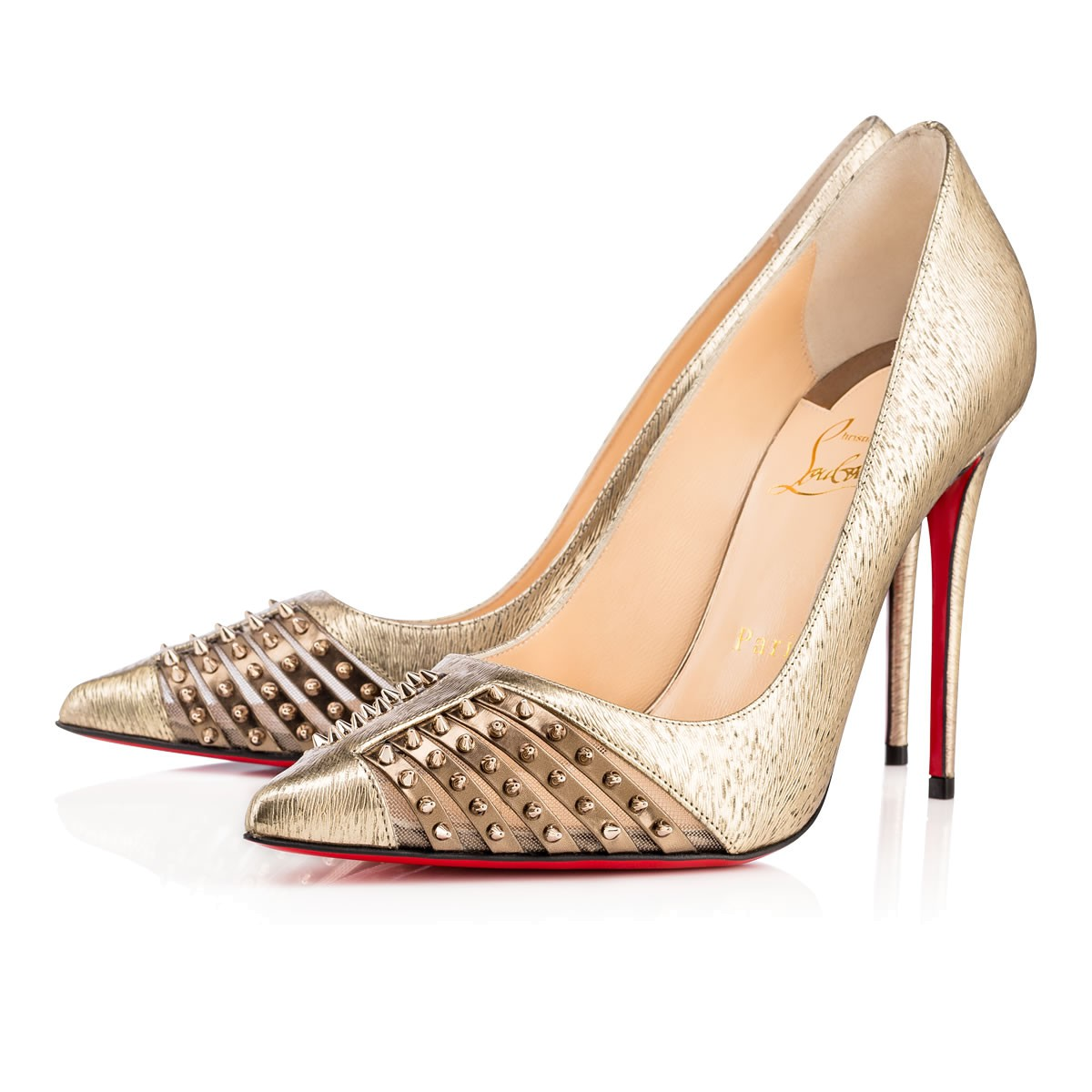 Туфли лабутены, модель Bareta