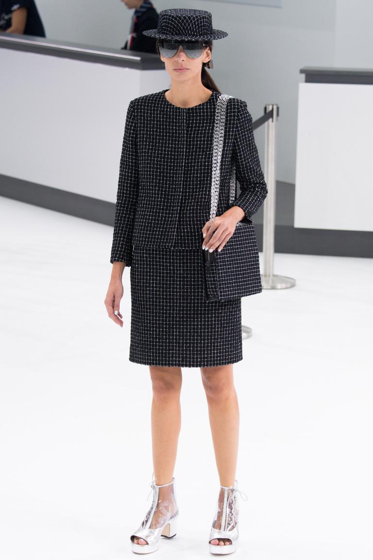 Мода весны 2016 из коллекции Chanel