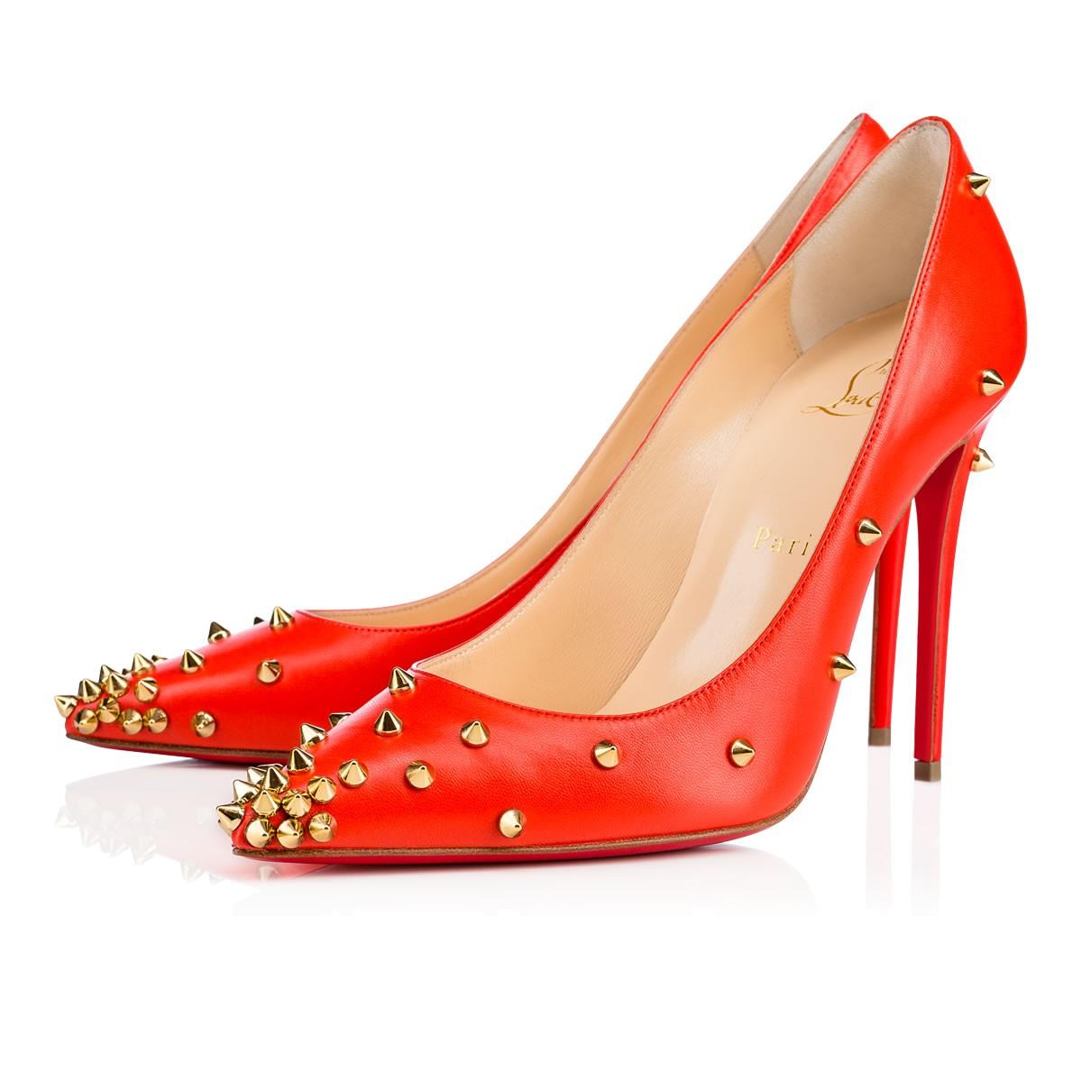 Красные туфли лабутены Degraspike