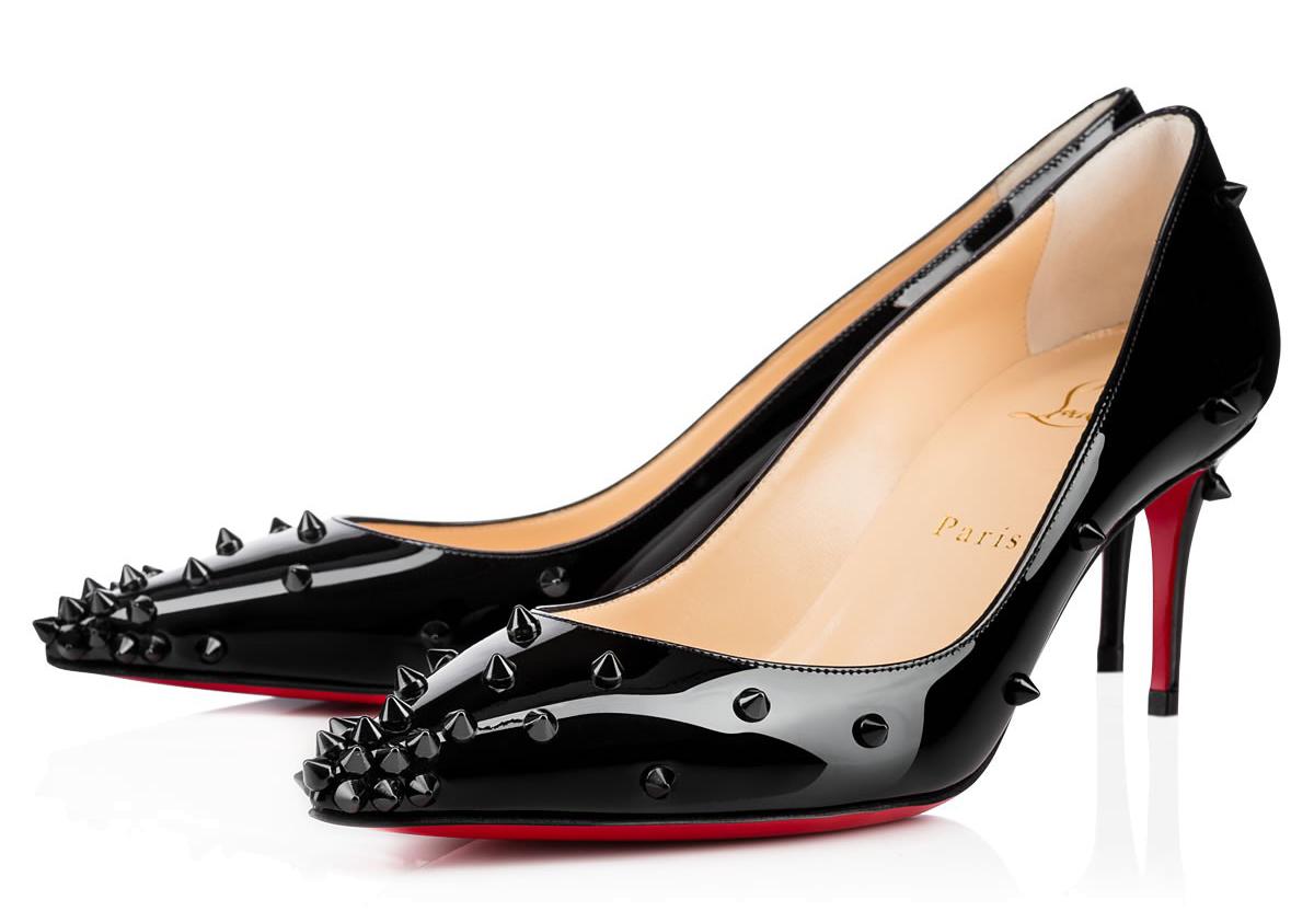 Черные туфли лабутены Degraspike