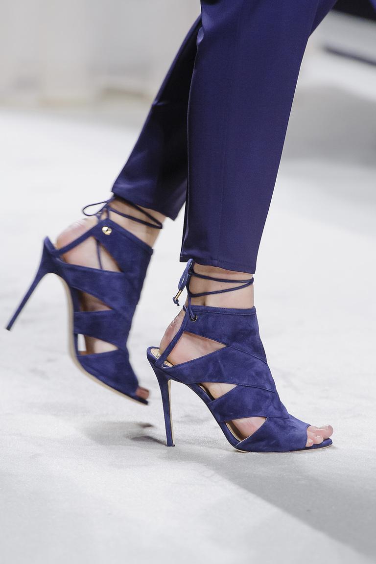 Веснв 2016-необычные туфли из коллекции Elisabetta Franchi