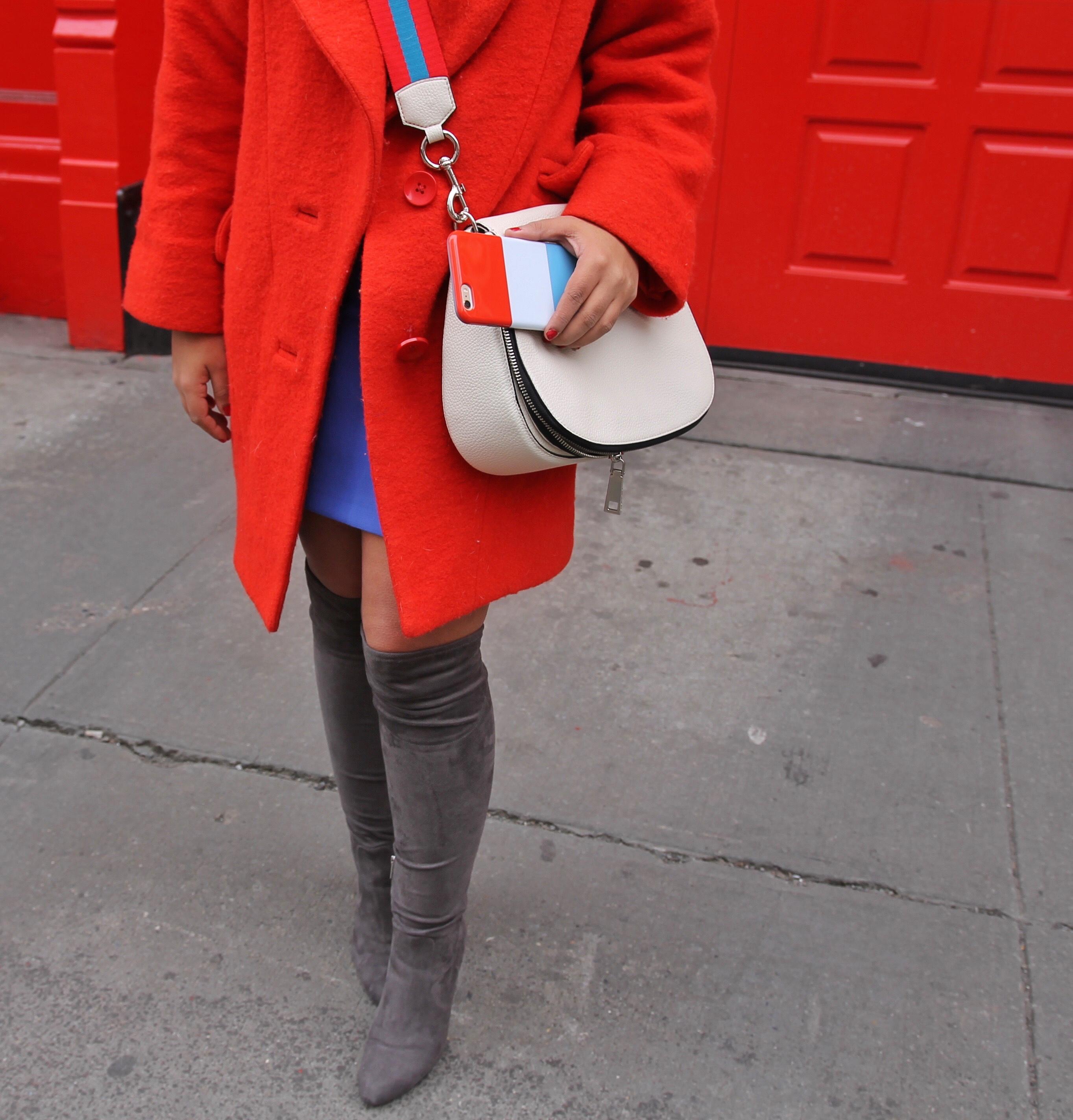 Красный, синий и белый – трио, от которого невозможно отказаться в будущем весеннем сезоне.