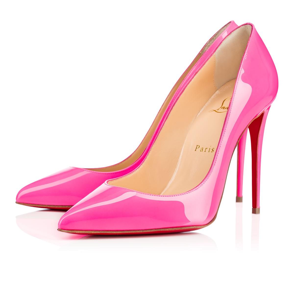 Розовые туфли лабутены, модель Pigalle Follies