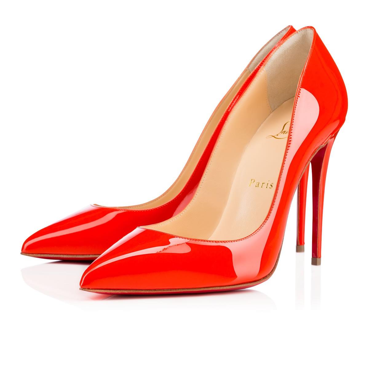 Красные туфли лабутены, модель Pigalle Follies