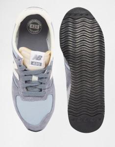 Кроссовки в винтажном стиле New Balance 420 Baby Blue
