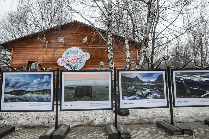 В парке «Кузьминки» выставка «Путешествуйте дома»