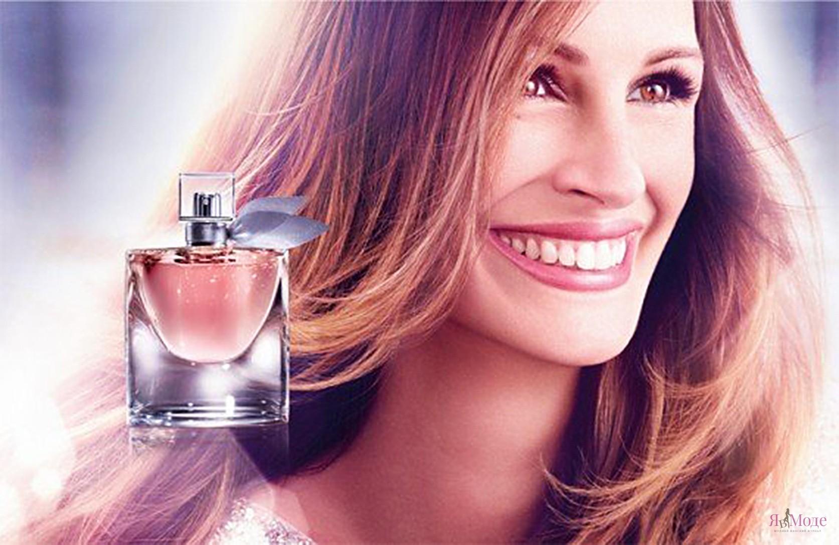 Лицо нового парфюма - Джулия Робертс. Это новая философия жизни.
