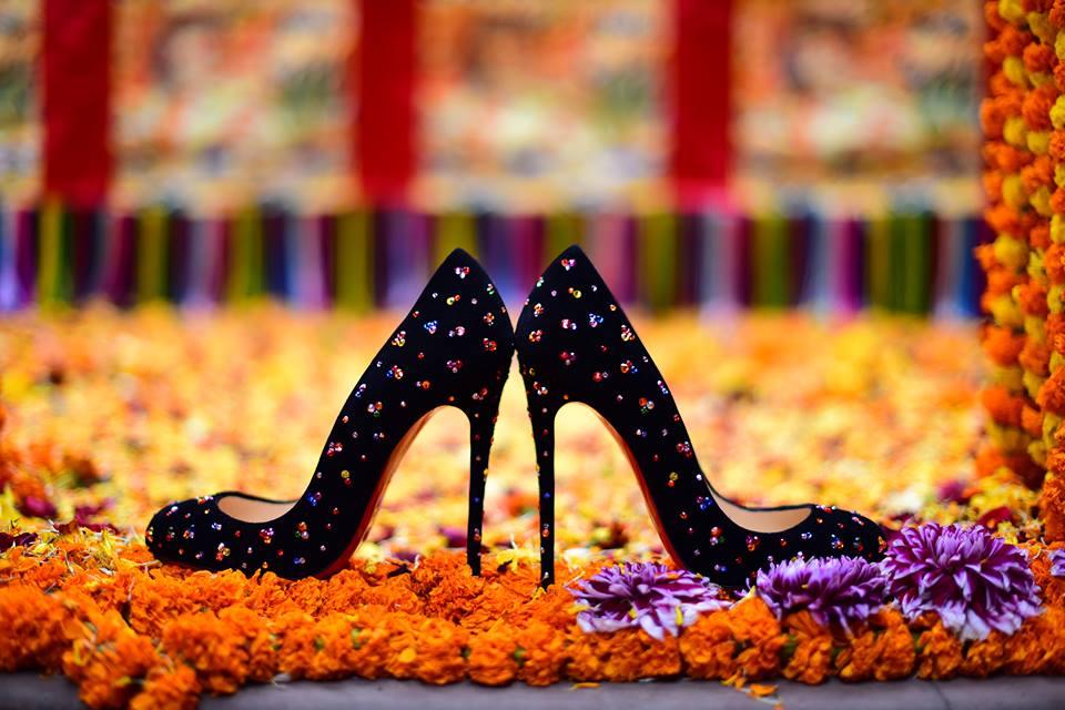 Роскошные туфли лабутены