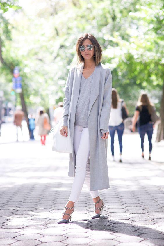 Модное пальто весны 2016 – модель на несколько размером больше