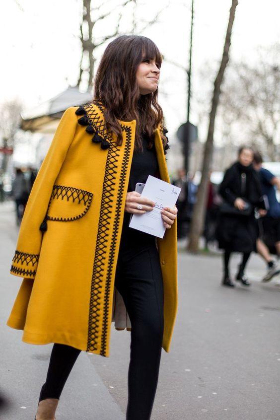 Яркое весеннее пальто 2016 с оригинальным узором – фото новинки и тренды сезона