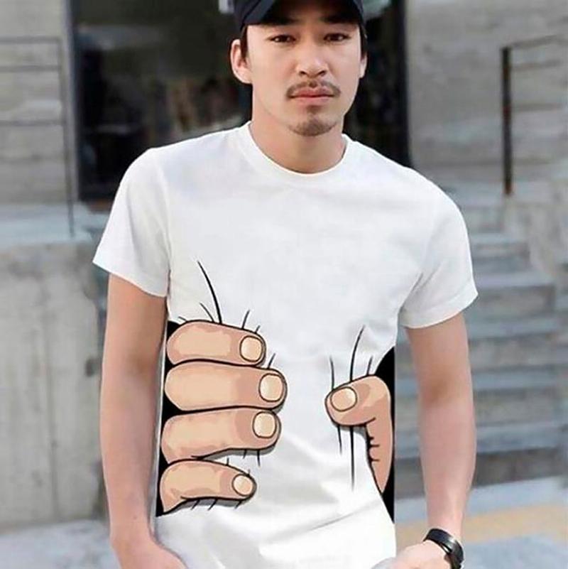 На 1 апреля можно подарить футболку.