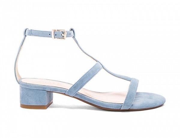 Модные босоножки весна-лето 2016 на низком каблуке
