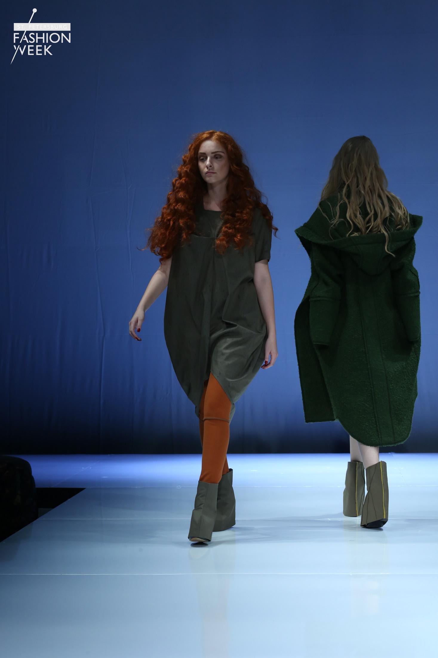 Показ коллекции ALEZZY LIRIQ на Неделе моды в Санкт-Петербурге