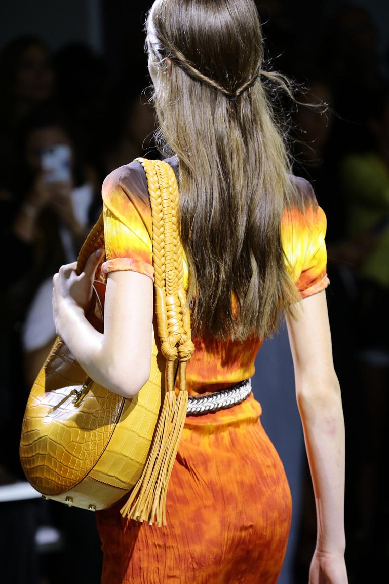 Модные сумки весна – лето 2016 - желтая сумка с из коллекции Altuzarra.
