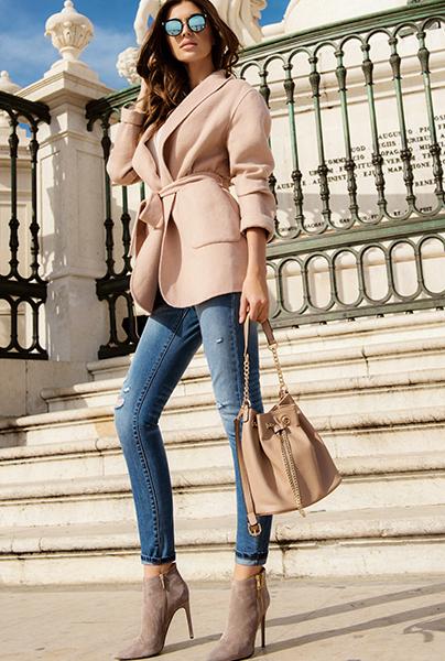 Новая коллекция Love Republic - современные модные джинсы дудочки в стиле Шанель.